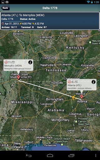 Memphis Airport MEM + Radar