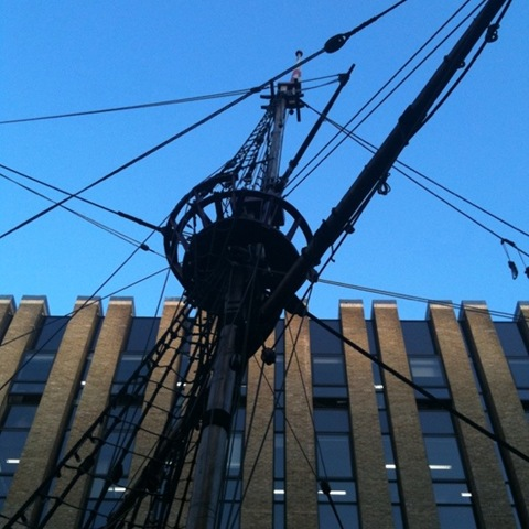 The Golden Hinde - Crows Nest
