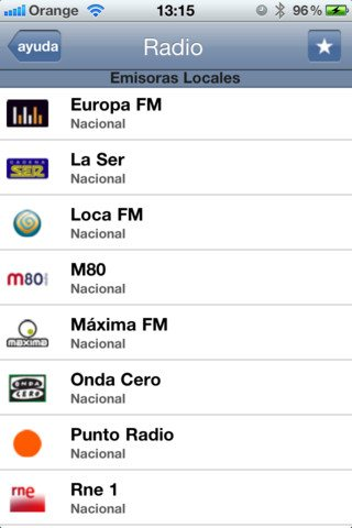 radio en iphone