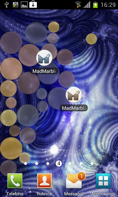 Mad Marbles LWP- screenshot