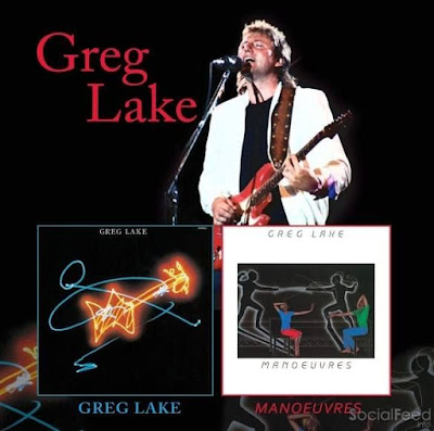Greg Lake Rereleases His Two Solo Albums Greg Lake Manoeuvres on Double