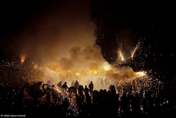Ball de Diables de Tarragona. Correfoc. Festes de Santa Tecla. Tarragona, Tarragonès, Tarragona 1994.09