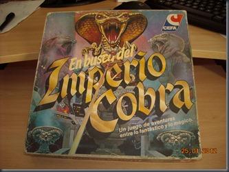 En busca del imperio Cobra (1)