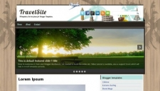 Travelsite blogger template 225x128