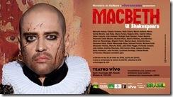 MACBETH - cartaz da peça