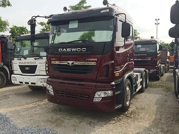 Xe đầu kéo Daewoo Prima nhập khẩu