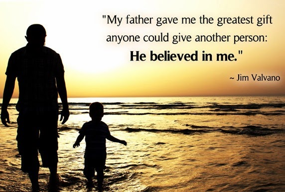 Fathers Day Quote Dad by Vikrmn Author CA Vikram Verma 10 Alone Jim Valvano