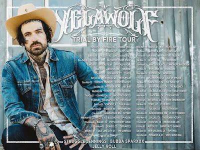 Tickets are going fast for the Trial By Fire tour Get your at yelawolfcomtour