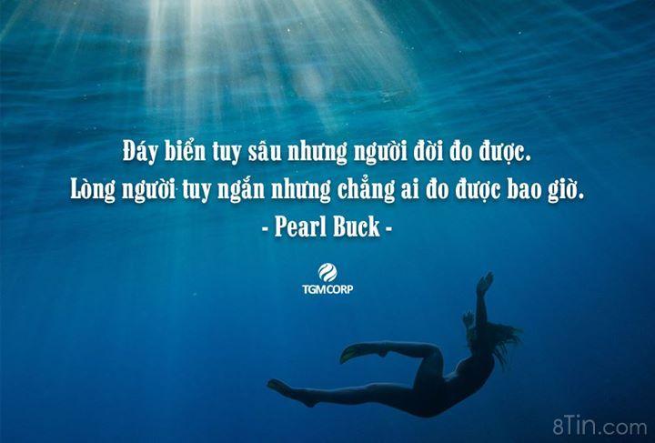 Đáy biển tuy sâu nhưng người đời đo được. Lòng người tuy
