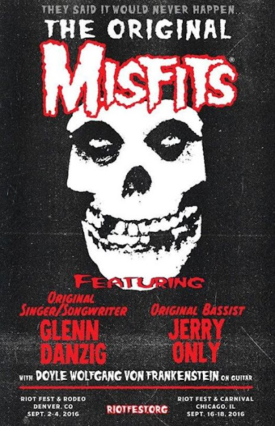 THE ORIGINAL MISFITS RETURN TO CHICAGO SUN 918 Follow the countdown clock