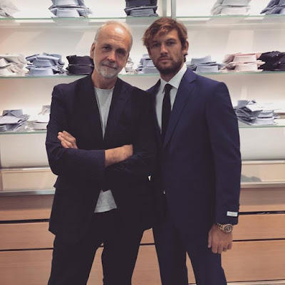 To my long time friend and savile row tailor