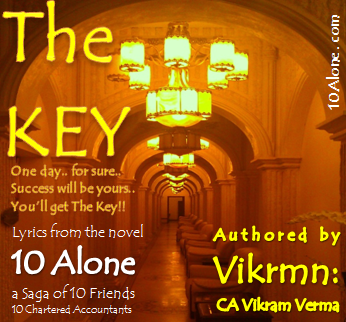 10 Alone Lyrics by Vikrmn: The Key