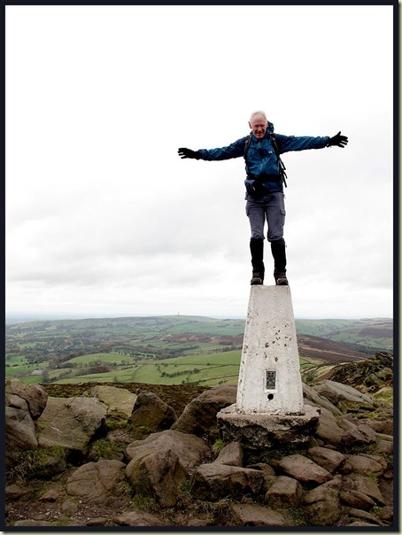 The Roaches - 472 metre summit