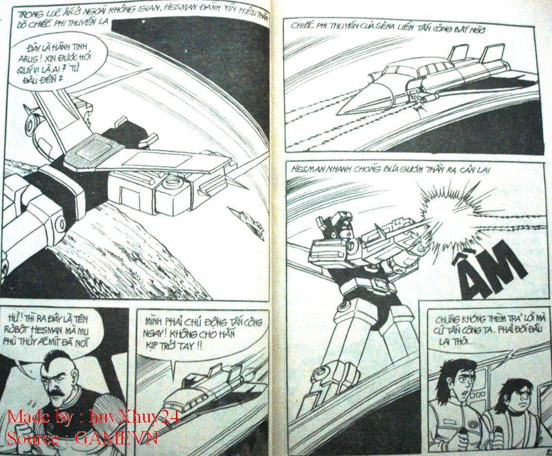 Dũng Sĩ Hesman chap 26 trang 12