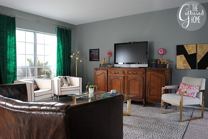 Fall In Love Living Room Makeover: The Final Reveal