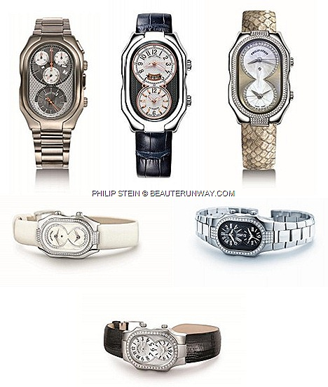 PHILIP STEIN Watches prices Natural frequency Technology Prestige Signature Collection Dual time zone dial JEWELLERY SLEEP BRACELETS Calgaro Monica Fin Oprah Winfrey, Rupert Murdoch, Madonna ASIA LARGEST LUXURY FLAGSHIP STORE