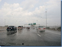 9976 Tennessee I-40 East at Knoxville - rain storm
