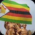 3d Zimbabwe Flag + Anthem LW logo