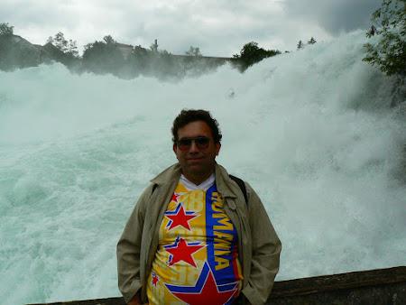 Obiective turistice Elvetia: cascada de la Schaffhausen