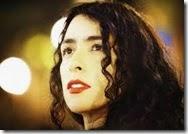 Cantante Marisa Monte en Chile