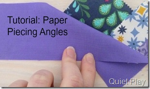 Paper Piecing angles 2