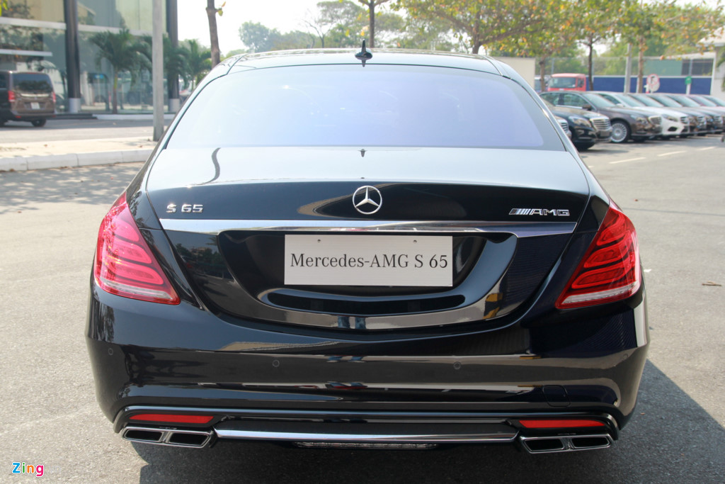 Xe Mercedes Benz S65 AMG New Model 09