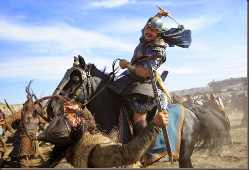 christian bale in EXODUS GODS & KINGS