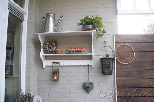 Fall Decoration Wall Shelf