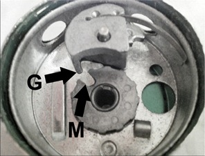 Sheva Apelbaum Combo Lock Inside Hinge