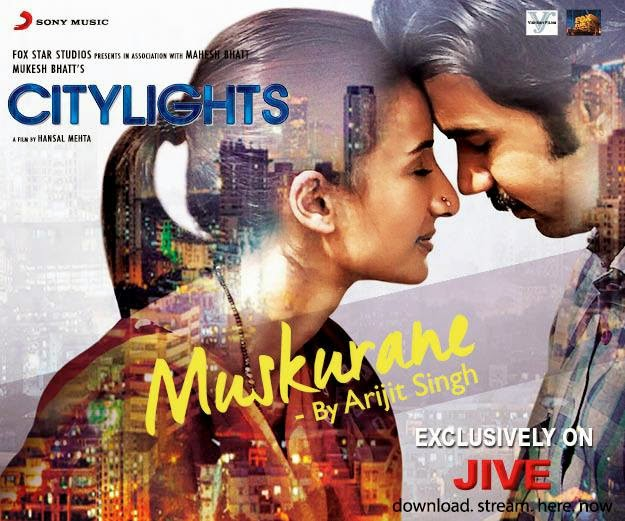 Muskurane Ki Wajah Citylights Arijit mp3 Rajkummar Rao download Lyrics song  torrent Mp4 Hansal 10 Alone Vikram Verma CA Vikrmn Author