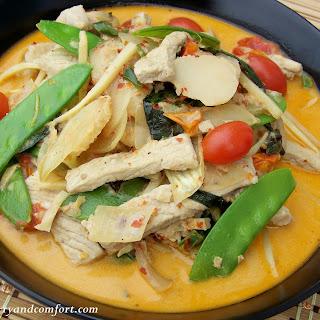 Thai Ginger Pork Curry.