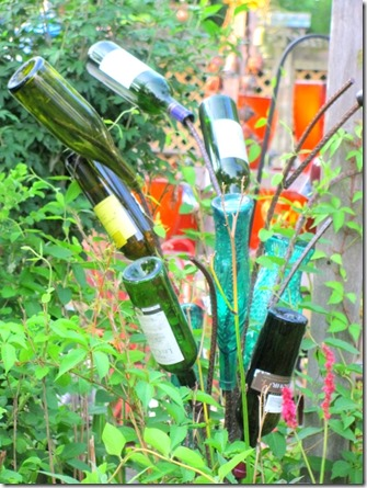 bottle sculpture
