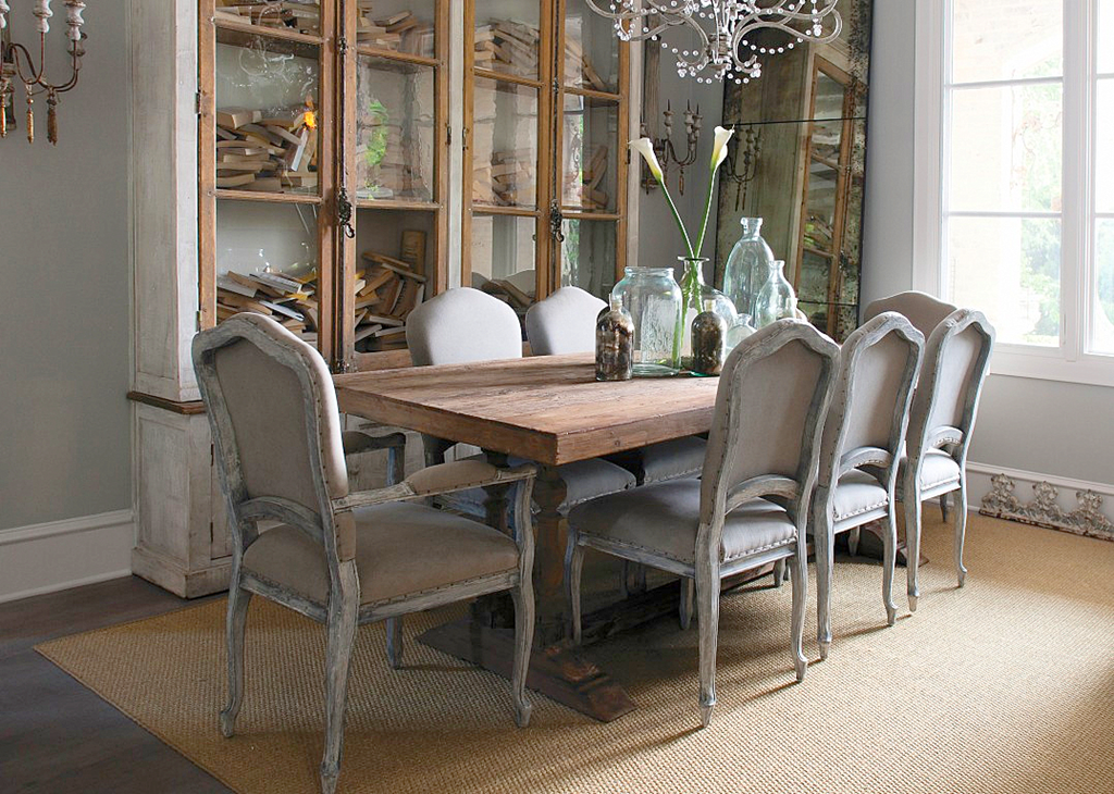 Grey Dining Room Chairs: COTE DE TEXAS: The Original Aidan Gray House