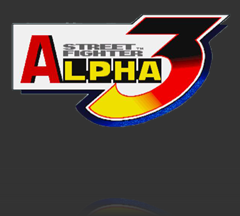 street fighter alpha 3 logo