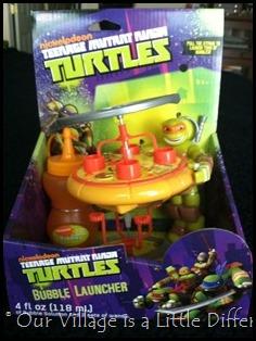 Teenage Mutant Ninja Turtles Bubble Launcher.