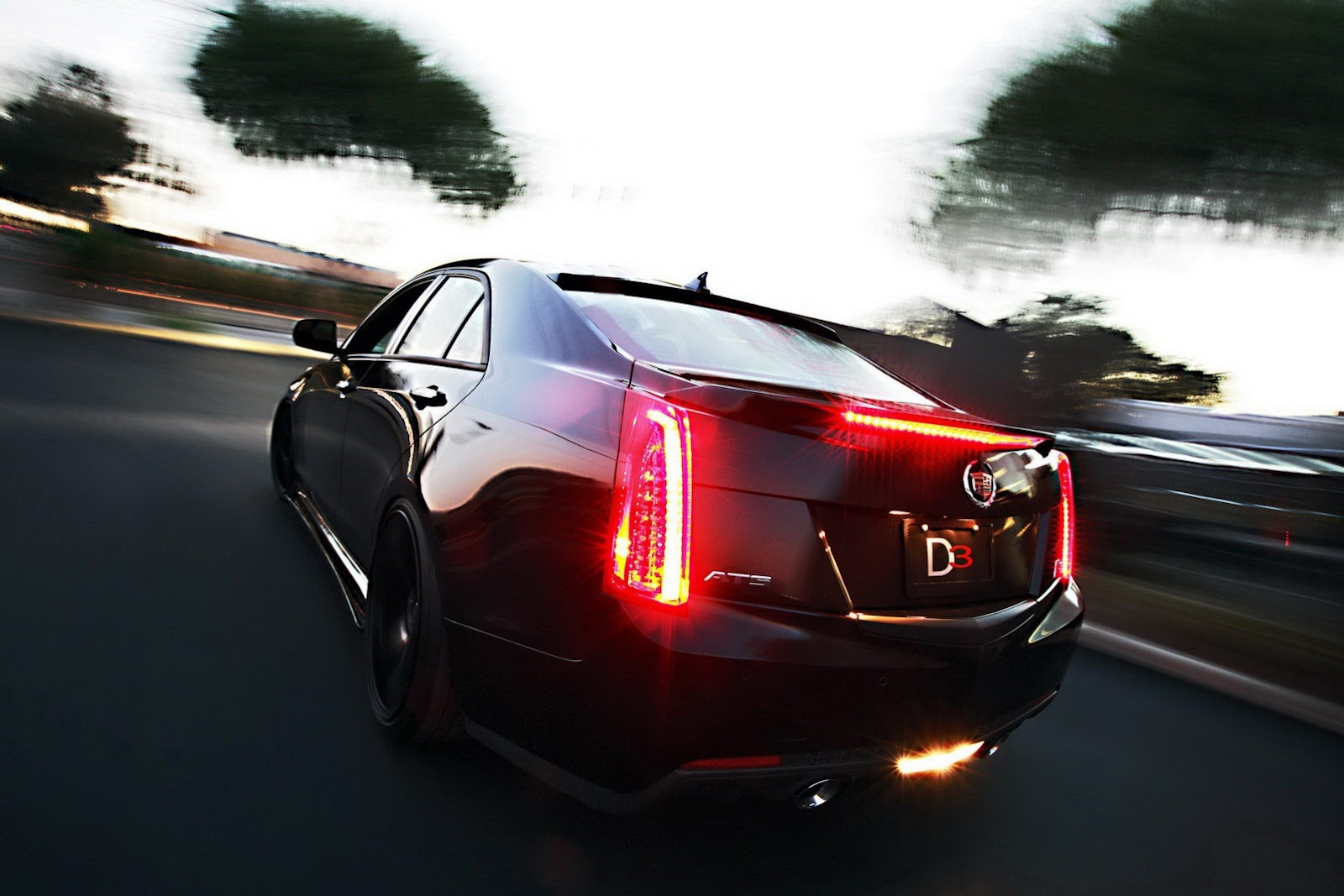 Modified Cadillac Ats By D3 Group