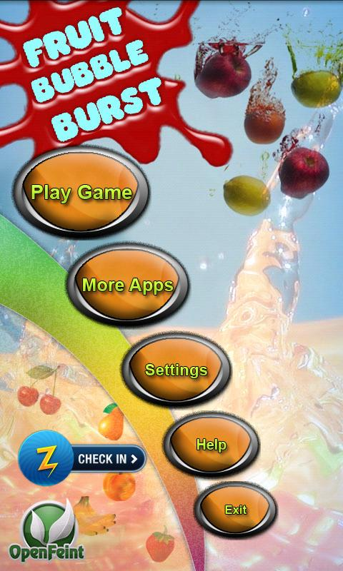 Fruit Bubble Burst Free - screenshot