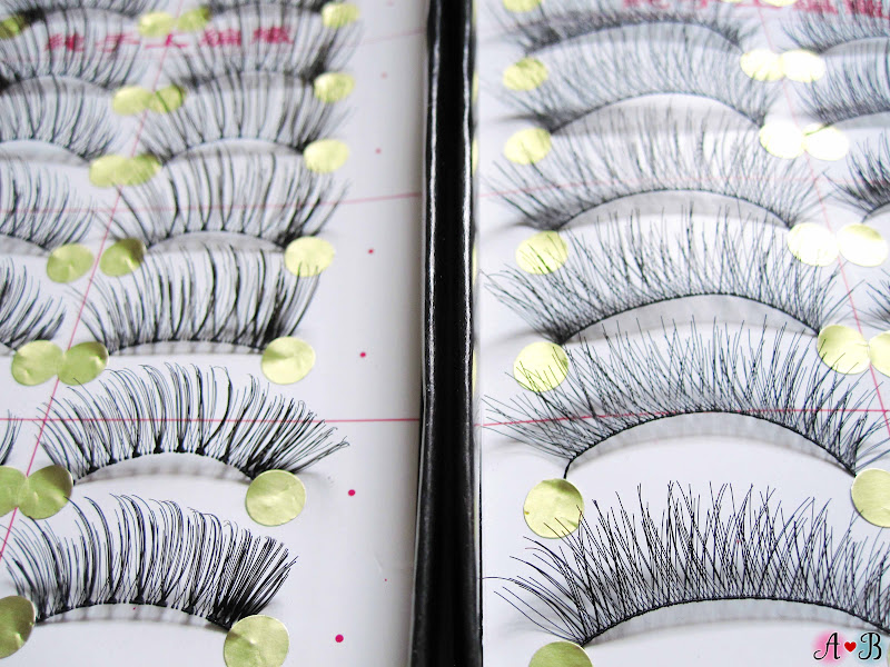 ES Handmade Eyelashes - Half Mini Lashes & Natural Soft Eyelashes