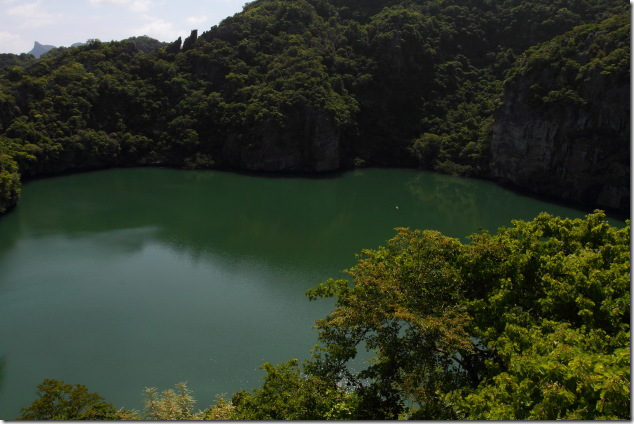 Emerald Lake in Angthong
