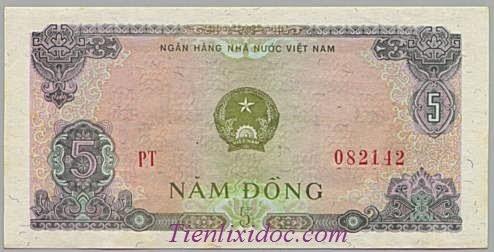 5 Đồng Việt Nam 1976