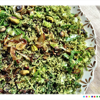 Green Couscous from Ottolenghi's Plenty