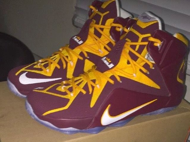 new style 344c5 5103b First Look at Nike LeBron XII 12 8220CTK Away8221 PE ...