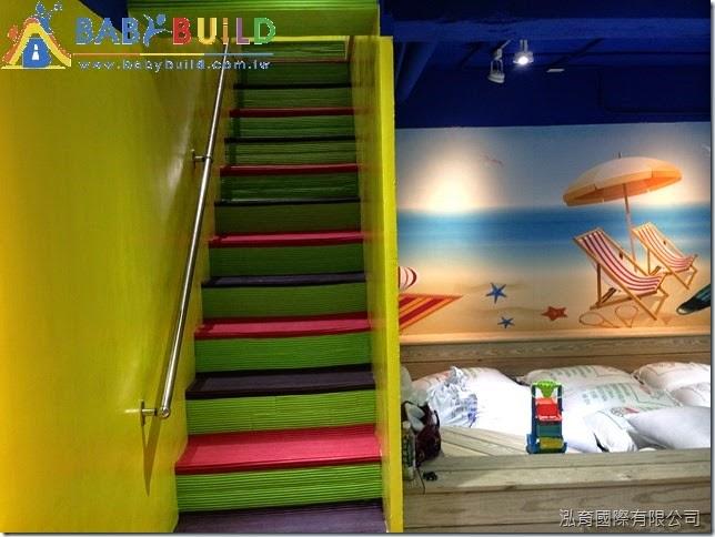 BabyBuild 樓梯防滑與防撞護條完工照