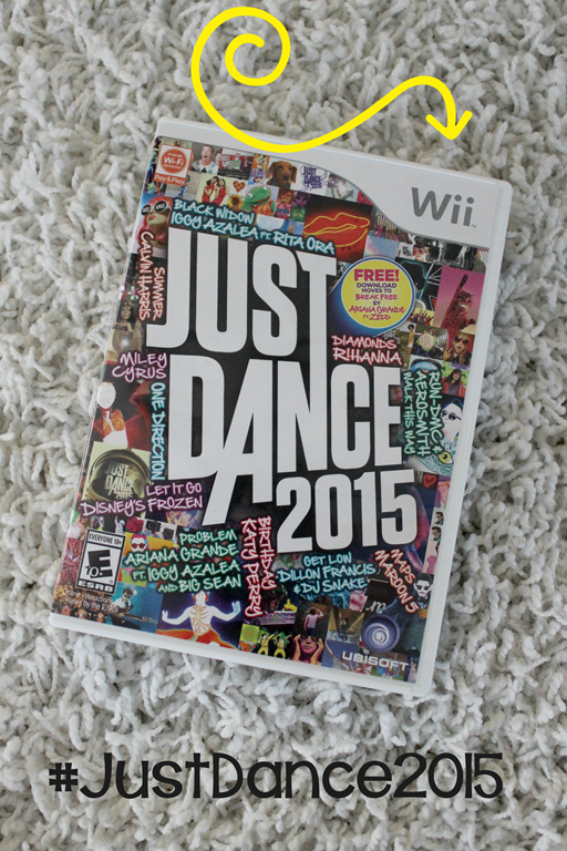 Family fun with Just Dance #JustDance2015