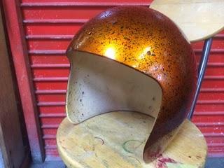 image - カスタムペイント工程 ジェットヘルメット キャンディスパッタリング