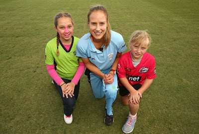Caught up with these future WBBL stars last summer with Meg Lanning
