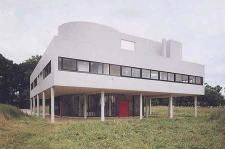 Villa Savoiye a Poissy (Corbusier)