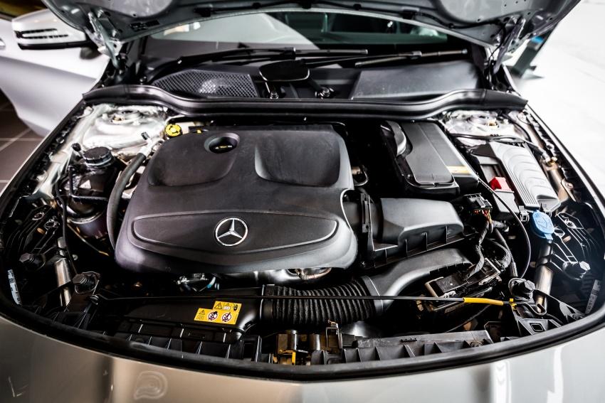Nội thất xe Mercedes Benz CLA250 4MATIC New Model 07