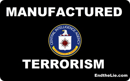 CIA manufactured-terrorism