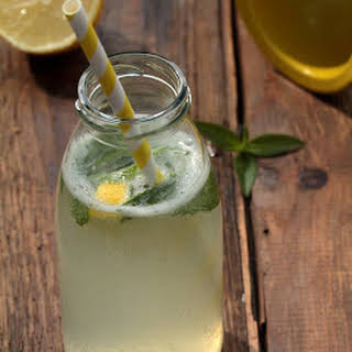 Refreshing Lemon Verbena Lemonade.